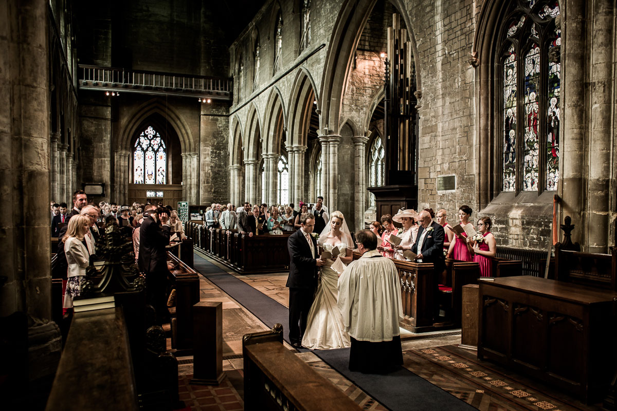 Church Wedding Ceremony | Photography by Andrew Fletcher