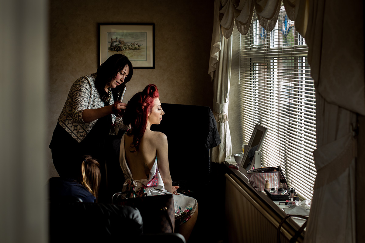 Colour Wedding Photography by Andrew Fletcher