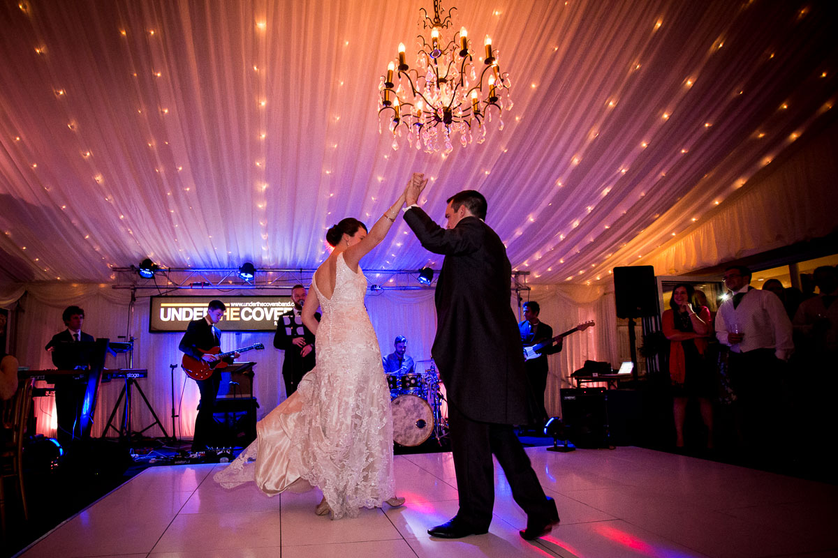 The First Dance at Capesthorne Hall by Andrew Fletcher Photography