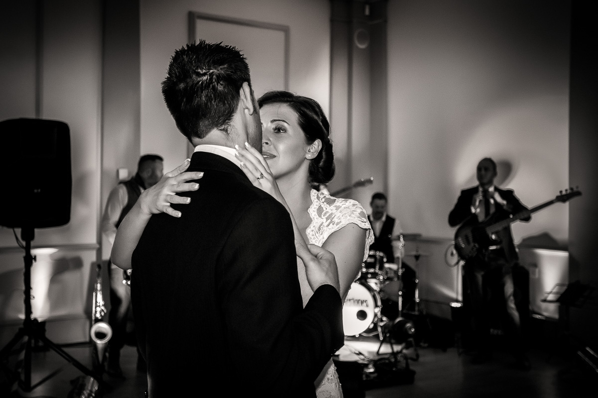 The First Dance at Hodsock Priory by Andrew Fletcher Photography